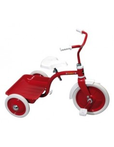 Trehjuling Bambo Röd